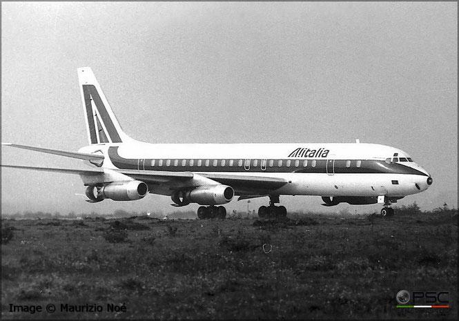 Collezione Noè - Douglas DC-8 - Milano Malpensa - marche non riconoscibili