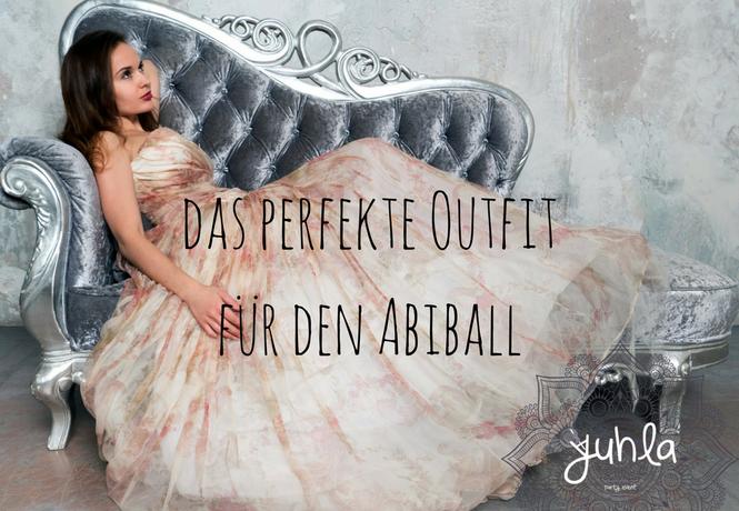 Das perfekte Outfit für den Abiball.