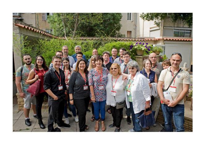 Réunion-LMC France-Leucémie Myéloïde Chronique-LMC-Patients-Association-Marseille- Mina Daban