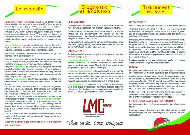 leucémie chronic myeloide leukemia lmc cml leucemie myeloide maladie traitement cancer sang globule blanc