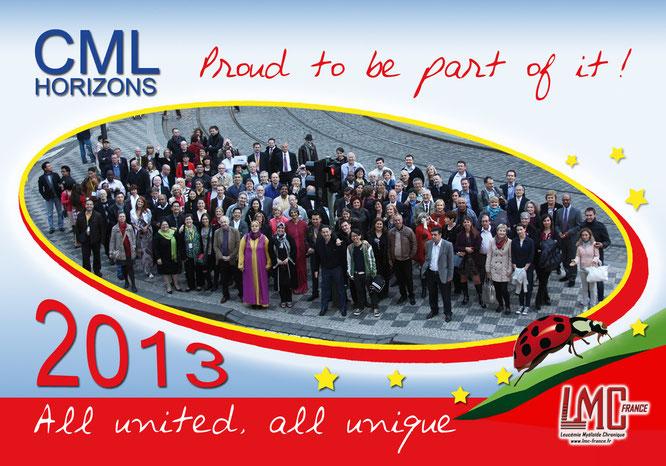 LMC France CML Horizons 2013 - Advocates Network - Proud to be part of it - CML World Day Mina Daban Jan Geissler Giora Sharf Pat Garcia-Gonzalez