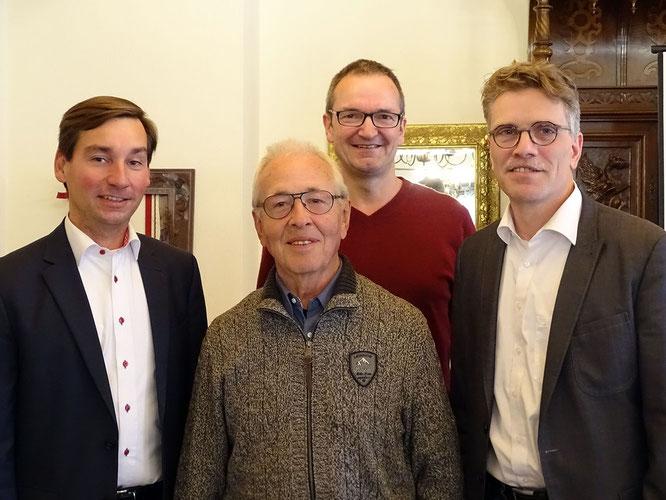 Sebastian Hartmann, Siegfried Bierfreund, Markus Weißenberg, Dirk Schlömer