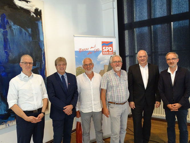 Ralf Holtkötter, Thomas Radermacher, Rald Rohrmoser-von Glasow, Dietmar Tendler, Prof. Dr. Stefan Sell, Jörg Mährle