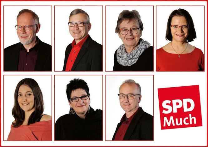 Vertreter der Fraktion, SPD-Much