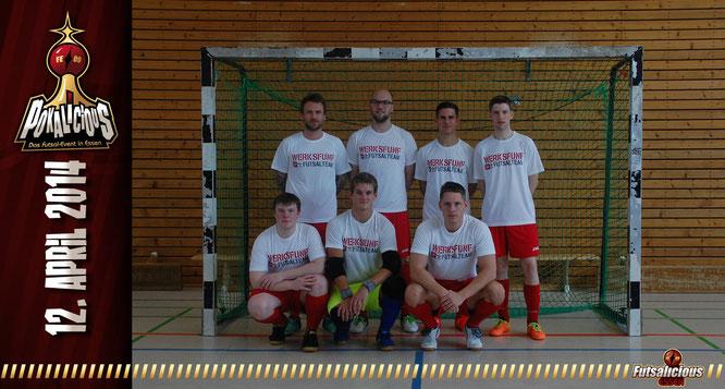 SC Bayer 05 Uerdingen Futsal II (Foto: Valchev / Grafikdesign: Berger)