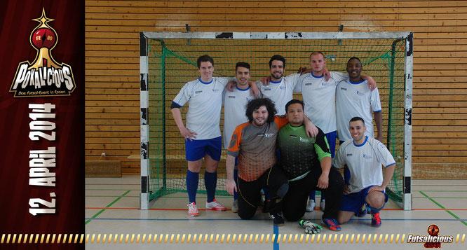 Futsal-Team Hochschulsport Hochschule Rhein-Waal Kleve (Foto: Valchev / Grafikdesign: Berger)