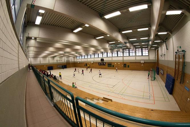 Sporthalle Kupferdreh (Foto: Patrick Heidelberg)