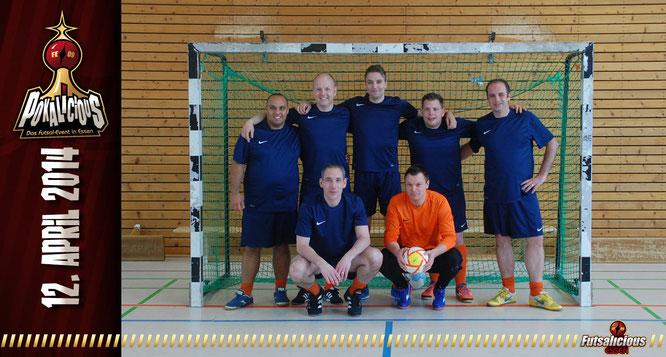 SV Futsal Olympia Haarlem (Foto: Valchev / Grafikdesign: Berger)