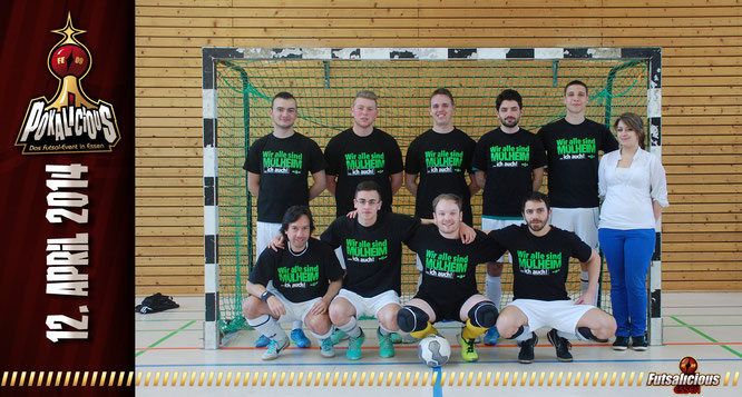 Primero Club de Futsal PCF Mülheim an der Ruhr (Foto: Valchev / Grafikdesign: Berger)