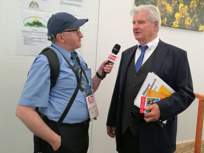 Wirtschaftsjournalist Frank Lehmann im FRANKFURT INTERVIEW © Mary Pins/FRANKFURT MEDIEN.net