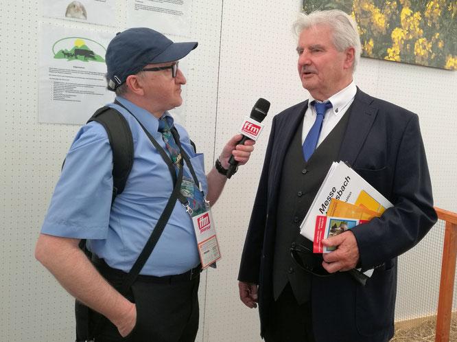 Wirtschaftsjournalist Frank Lehmann im FRANKFURT INTERVIEW © FFM PHOTO / Mary Pins
