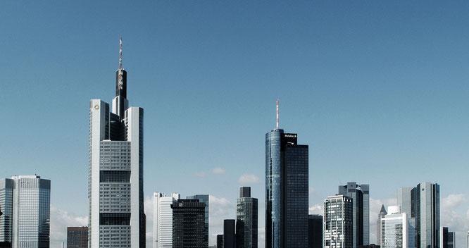 Frankfurter Skyline © dokubild.de / Friedhelm Herr