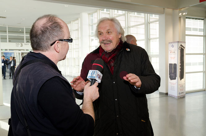 """Stepi"" im FFM JOURNAL INTERVIEW © Fpics.de/Friedhelm Herr"