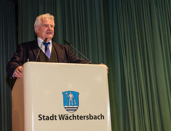 Messe Wächtersbach 2018 Schirmherr Frank Lehmann © Friedhelm Herr/FRANKFURT MEDIEN.net