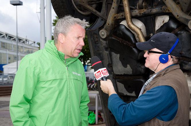 Greenpeace-Verkehrsexperte Andree Böhling im FFM JOURNAL INTERVIEW © FFM PHOTO / Friedhelm Herr