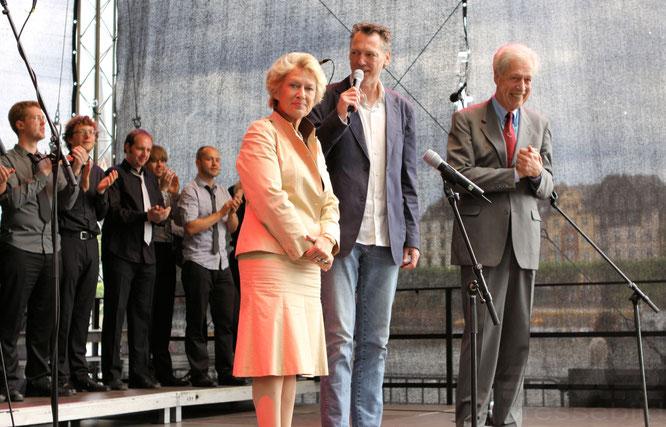 Deutsches Chorfest 2012 in Frankfurt © mainhattanphoto/Klaus Leitzbach