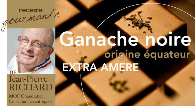 photo du chef Bruno Viala et de sa recette truffes choco basilic