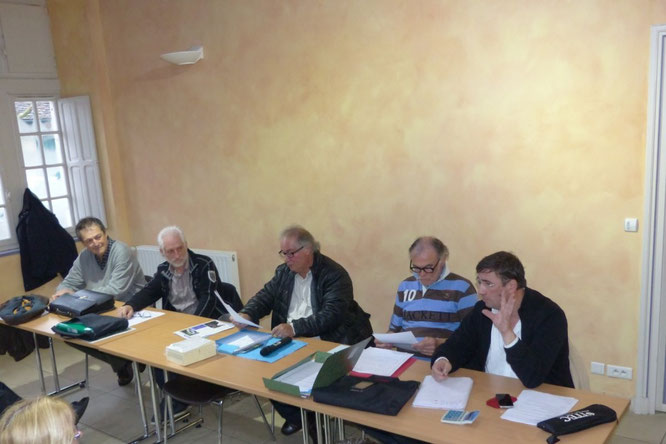 Salmo Tierra Salva Tierra et l'ACCOB (Oloron) lors de l'AG à Sauveterre de Béarn.