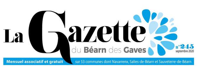Mensuel associatif : la Gazette du Béarn des Gaves avec Jean-Pierre Dupré