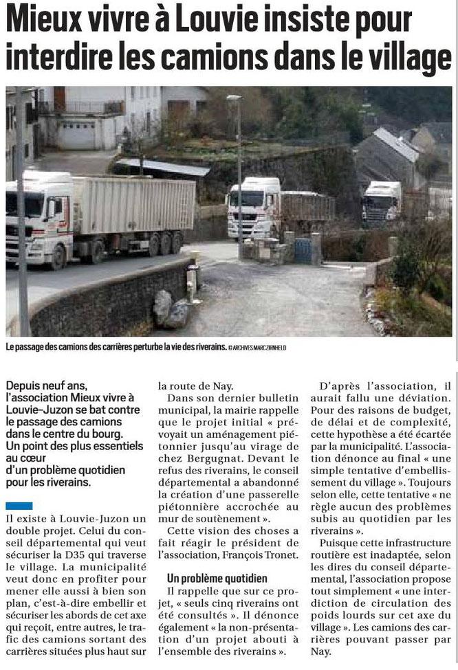 La dure réalité que vit la population près d'une carrière en Haut-Béarn ! Cela suffit, on en a assez de carrières à Oloron.