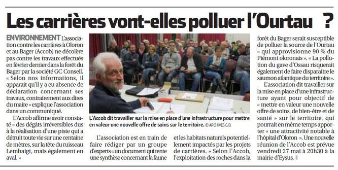 La République des Pyrénées du 25 mai 2016