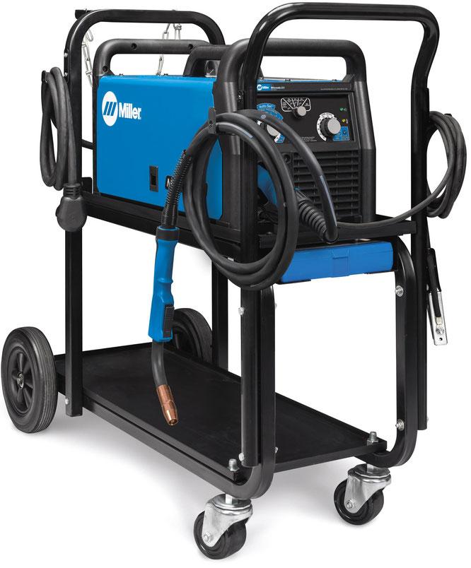 Millermatic 211 con carrito Microalambre