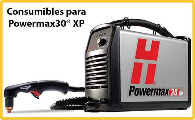 Consumibles para Powermax30 XP de Plasma Hypertherm