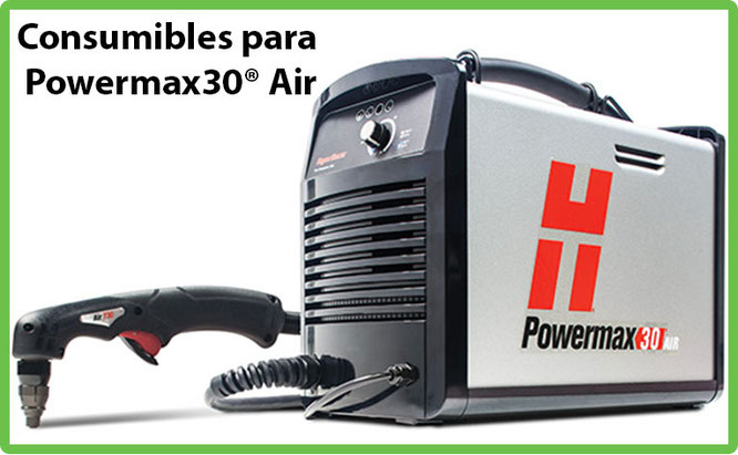 Consumibles para Powermax30 AIR de Plasma Hypertherm