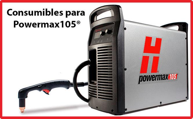 Consumibles para Powermax 105 Hypertherm México