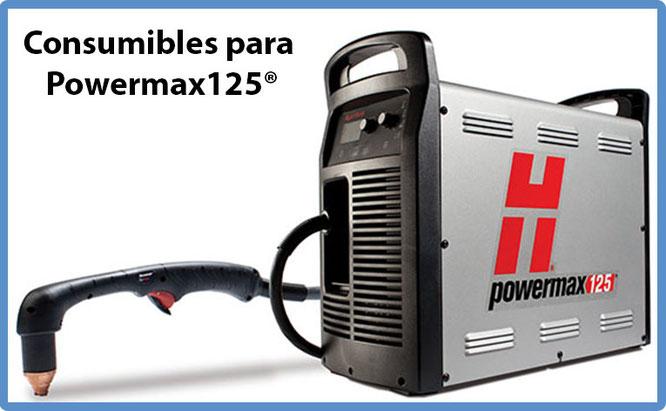 Consumibles para Powermax 125 Hypertherm México