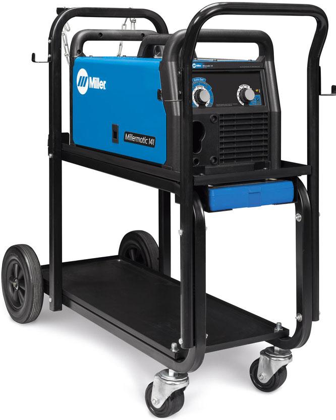 Millermatic 141 microalambre con carrito