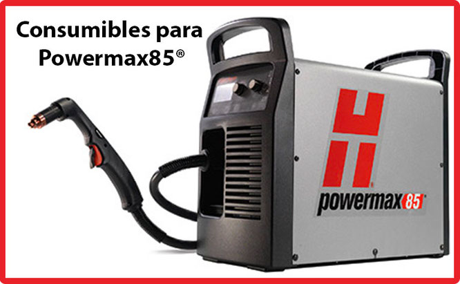 Consumibles para antorcha manual Powermax85 Hypertherm México