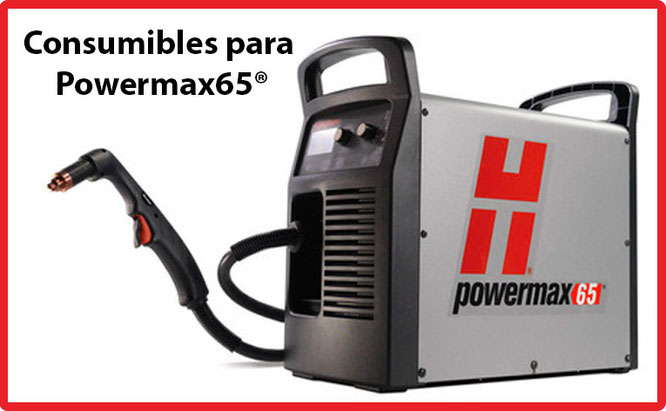 Consumibles para equipo Powermax65