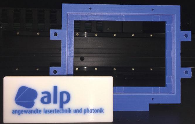 Prototyp,  gedruckt mit Multijet-Verfahren