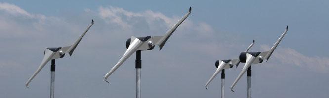 Mikrowindkraftanlagen sind auch für Eigenheime innerhalb von Wohngebieten geeignet