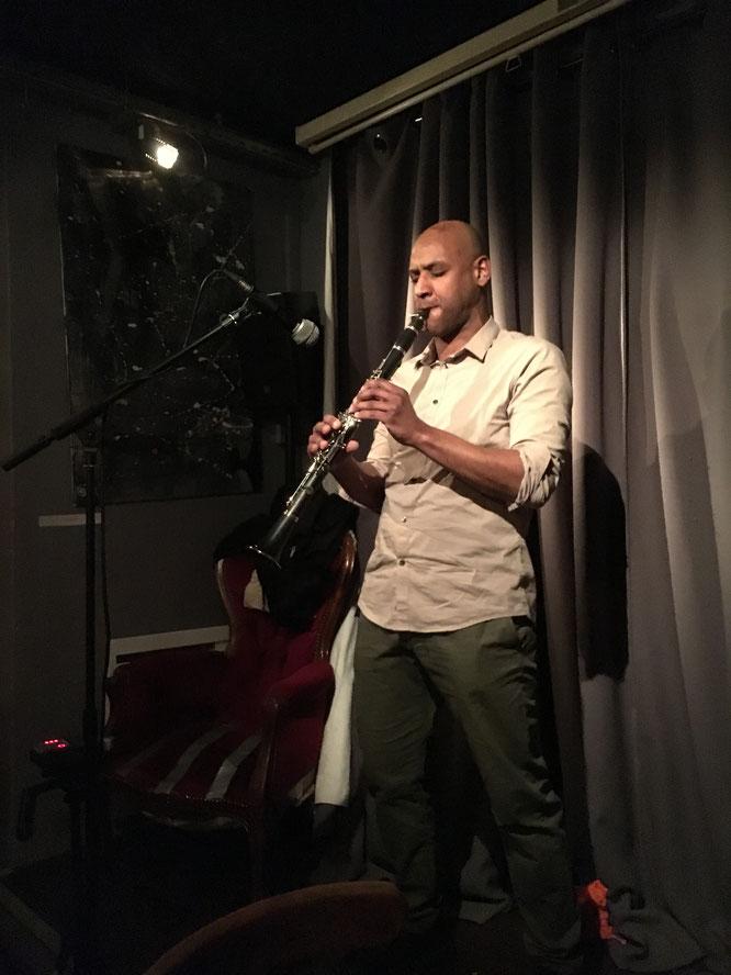 clarinette solo improvisée jazz klezmer