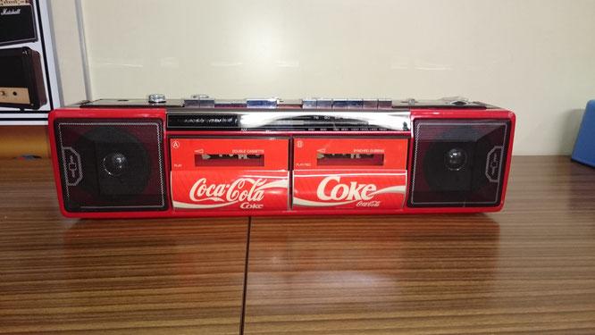 コカ・コーラ ラジカセ TRC-938