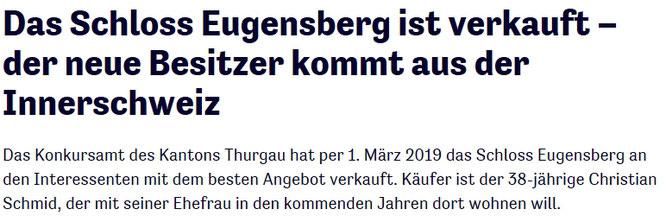 Thurgauer Zeitung vom 24. März 2018
