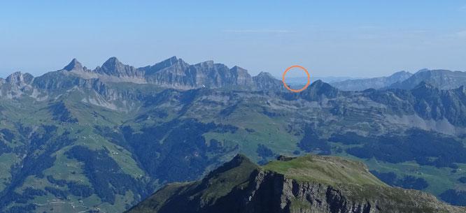Aussicht vom Hoch Fulen Richtung Napoleonturm - Bergportal, belrob