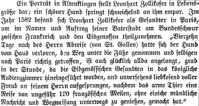 """Pfr. A. Zumstein, Chronik von Wigoltingen, 1894. Zitiert aus Herrliberger """"Topographie der Eidgenossenschaft"""" 1754"""