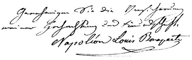 Gruss am Ende eines Briefes an Thomas Bornhauser