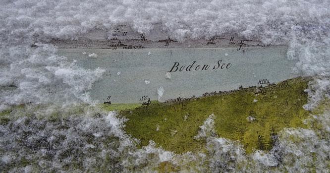 der Bodensee ist vom Turm aus (fast immer...) gut sichtbar