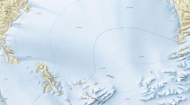 Karte vom Bundesamt für Landestopografie, Wabern bei Bern