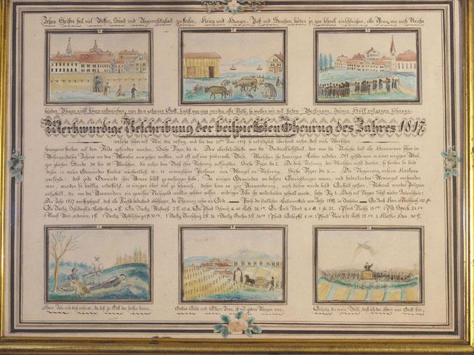 """die """"Hungertafel"""" aus dem Toggenburger Museum Lichtensteig"""
