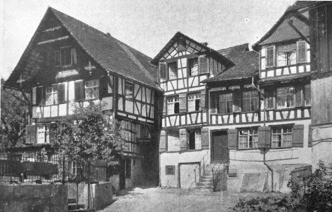 der Widum- oder Schlotterhof (nach ehemaligen Besitzern namens Schlatter)