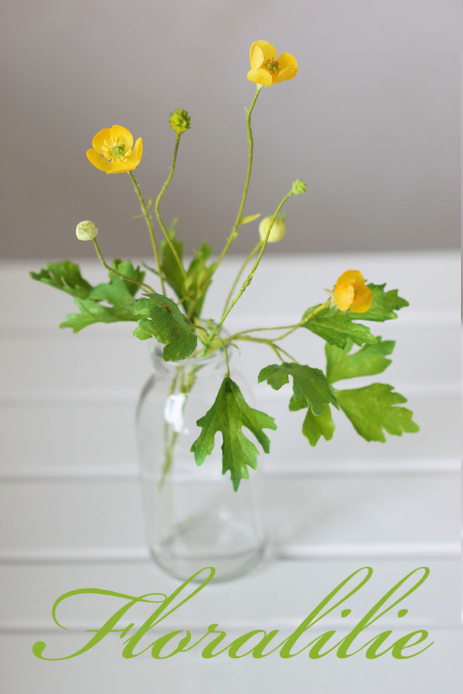 Wafer Paper Buttercup | Floralilie Sugar Art