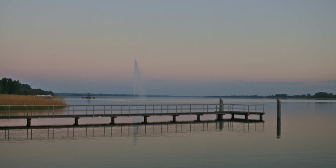 Unteruckersee in Prenzlau - der Bodensee lässt grüßen - fluegelwesen.de