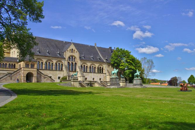 Kaiserpfalz in Goslar - fluegelwesen.de