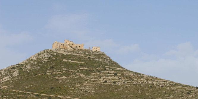 fluegelwesen.de -  Die alte Festung - der Aufstieg lohnt sich - Reise-Tipps Favignana, Sizilien