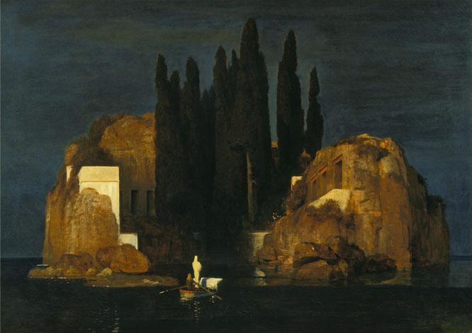 アルノルト・ベックリン「死の島」(1880年)
